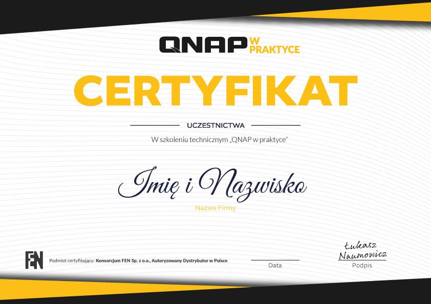 qnap_w_praktyce_Certyfikat